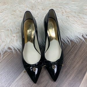 Michael Michael kors Nancy mid kitten heel pumps